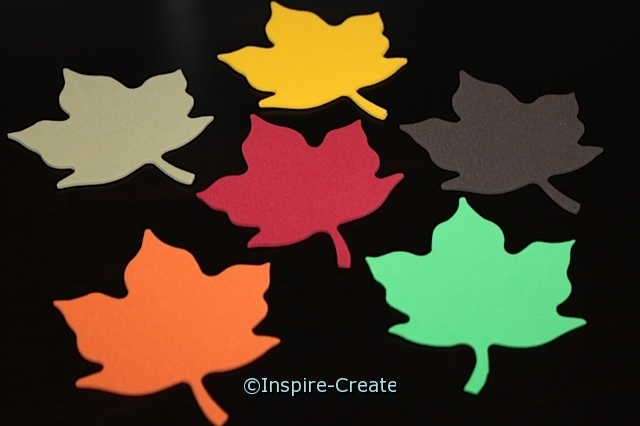 Maple Leaf Foam SHAPES (Bulk 90)*