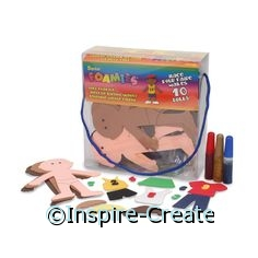 Foamies Girl Doll Bucket Kit*