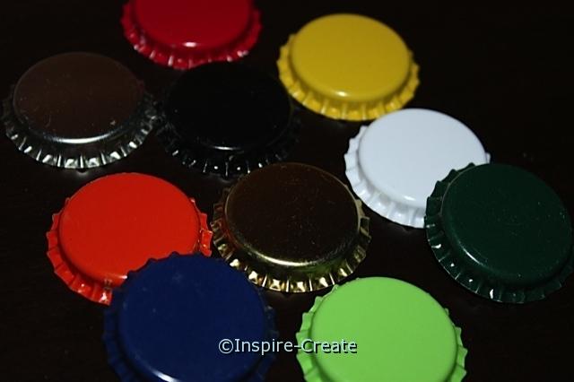Multi Assorted Bottle Caps (10)*