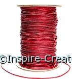 Metallic Red Elastic (100 yard spool)*