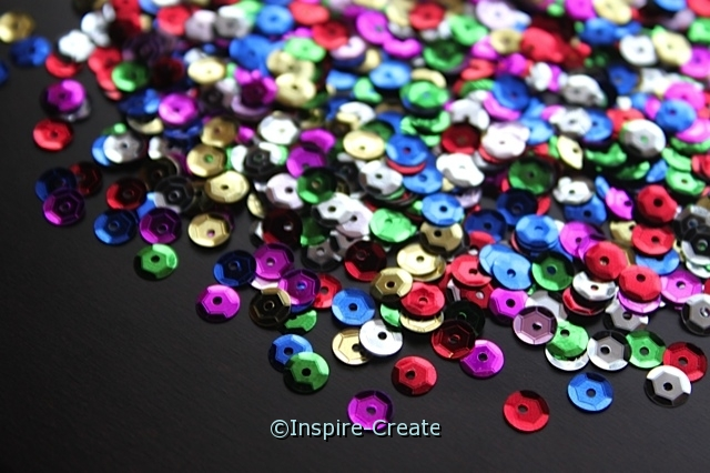 5mm Multi Round Sequins w/Tin (800)*