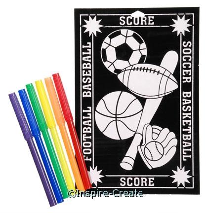 Sports Velvet Poster Set*