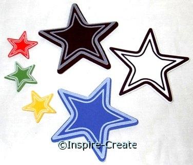 Foamies Varsity Star Stickers (40)*