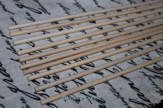 """3/16"""" Natural Wood Dowel (20 pcs)*"""