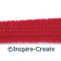 Red Chenille Stems (100)*