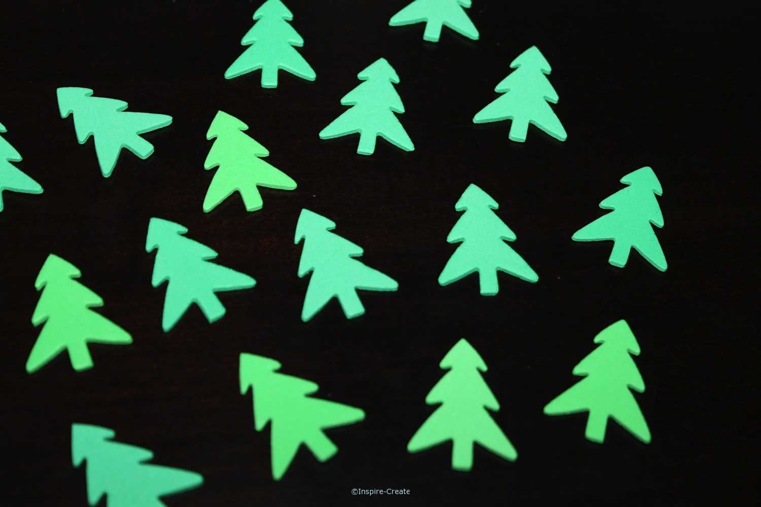 Foam Small Tree SHAPES Pack (Bulk 216)*