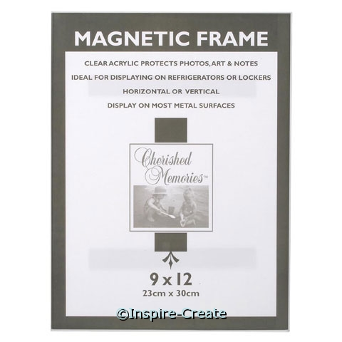 Acrylic Magnetic Frame 9x12*