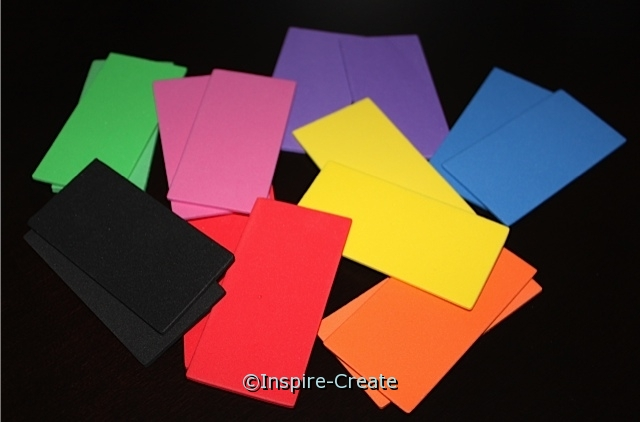 Rectangle Foam SHAPES (Bulk 96) ~All Sales Final