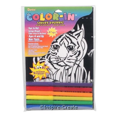 Tiger Velvet Poster Set*