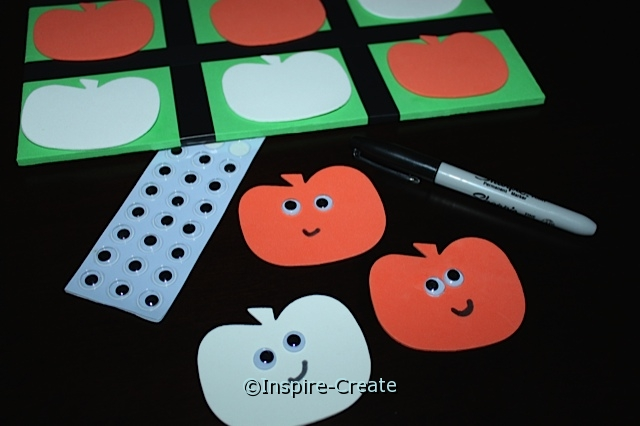 Pumpkin Tic Tac Toe Kit*