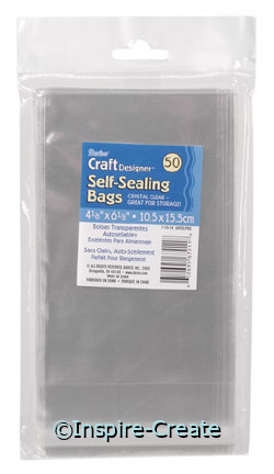 Clear Self Sealing Bags (50)*