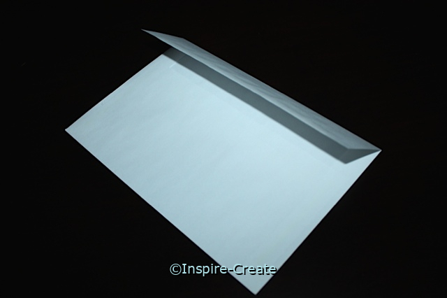 White Half Fold Envelopes (50)*
