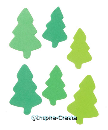 Foamies Christmas Tree SHAPES Value Pack (300)*