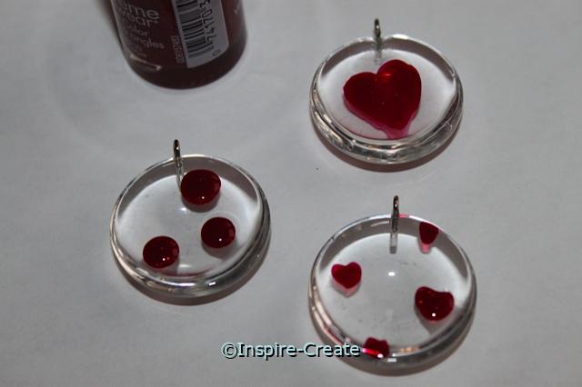 Paint Gems with Nail Polish