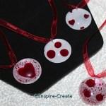 Heart Nail Polish Necklaces
