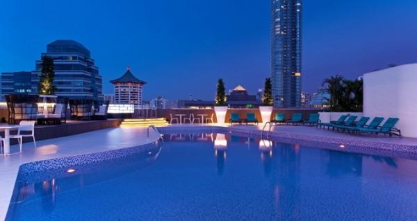 Pool - Evening