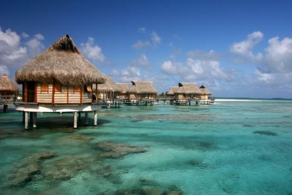 Tikehau, Pearl Beach Hotel, Bora Bora. image courtesy of Benoit Mahe.