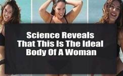 science reveals the perfect body of a woman