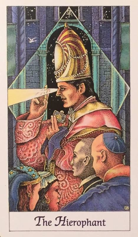 Taurus: The Hierophant