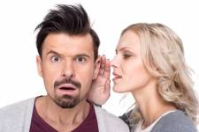 Men don't have an ear for gossip.
