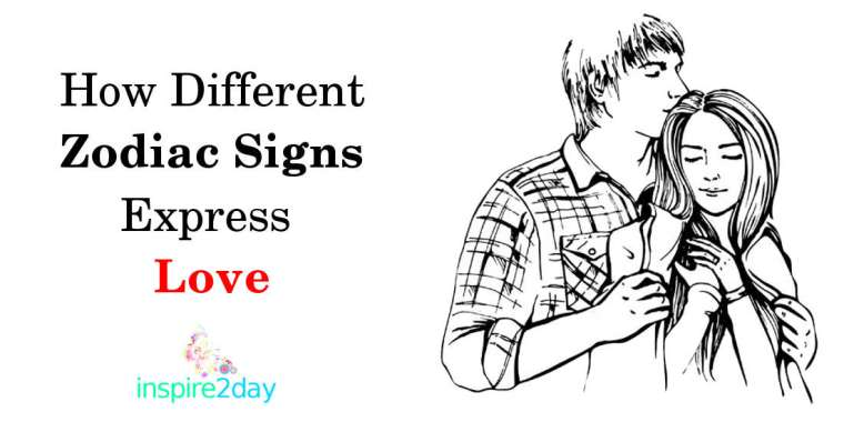 How Different Zodiac Signs Express Love