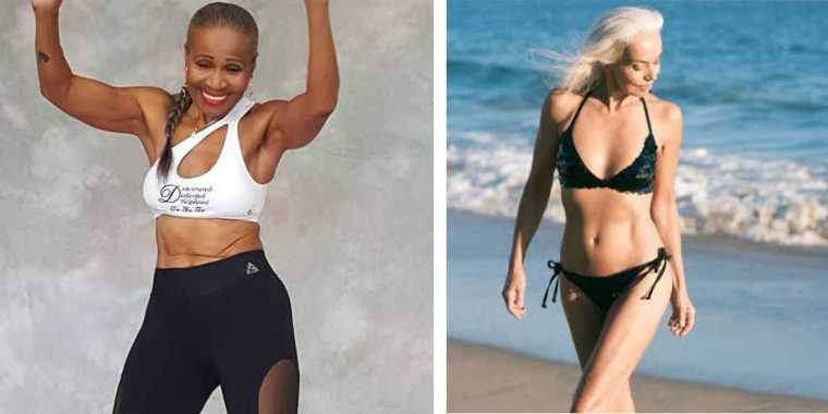 9 Beautiful Women Over the Age of 50 Who Will Inspire You to Work Out