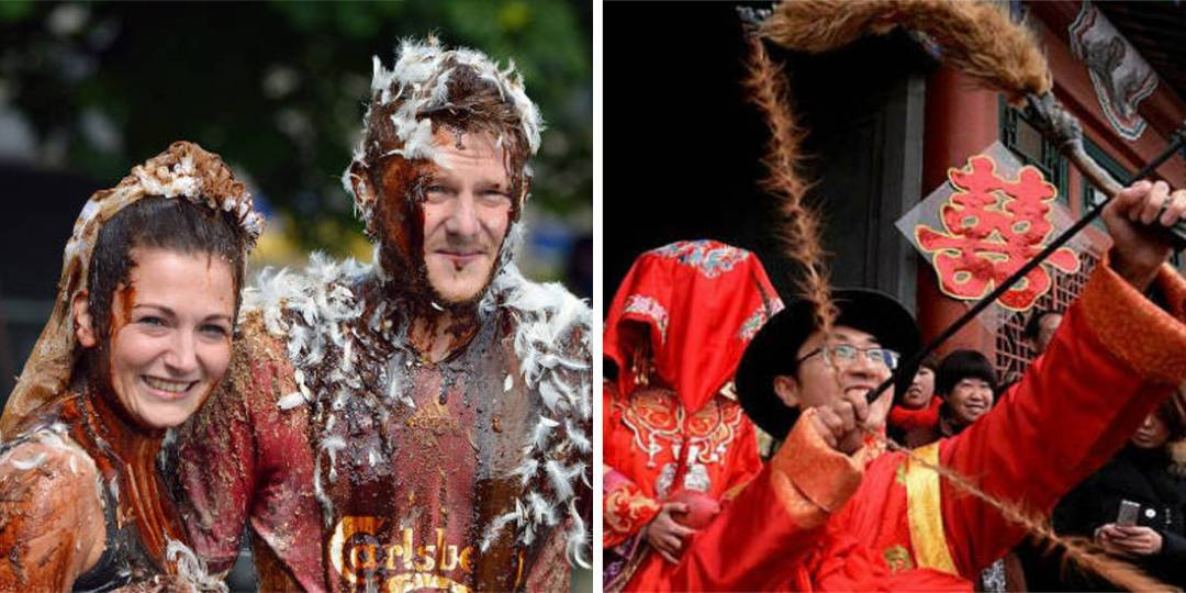 7 Of The Weirdest Wedding Traditions From Around The World