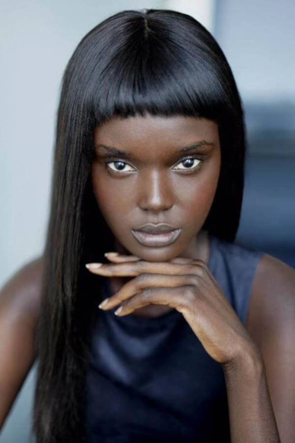 Most Attractive Australian-Sudanese Model Looks Like A Real-Life Barbie - 2