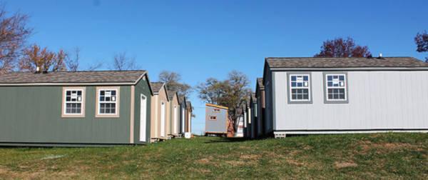 Tiny Village For Homeless Veterans - 2