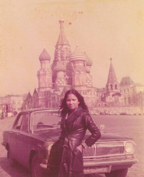 11. 'My Mom In Moscow 1975.