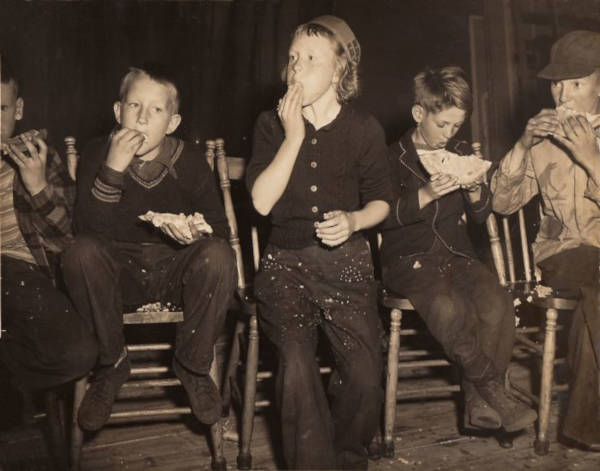 28. 'My Mom Winning The Pie Eating Contest By Beating All The Boys, 1950'