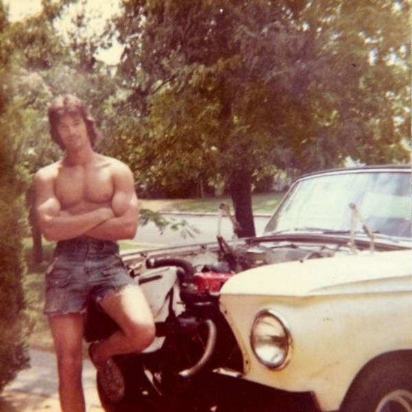 35.  'My Cool AF Dad At 19 (1973)