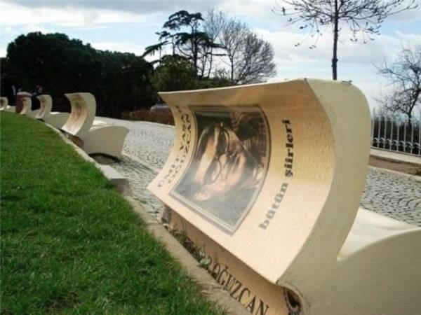 4. Book benches