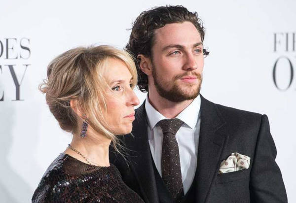 5. Sam Taylor Johnson and Aaron Taylor Johnson