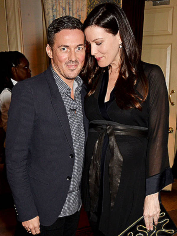 7. Dave Gardner and Liv Tyler