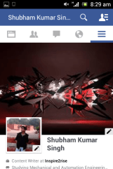 Facebook app updated on Mobile platform 2