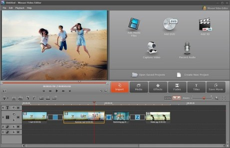 Movavi Video Editing Software for Windows and Mac screenshot 1
