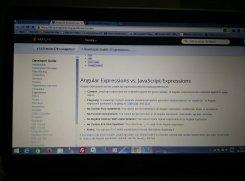 image of computer screen taken with yureka