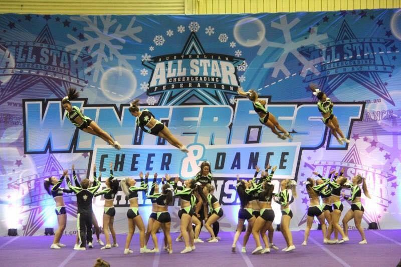 Inspire Athletics  AllStar Cheerleading