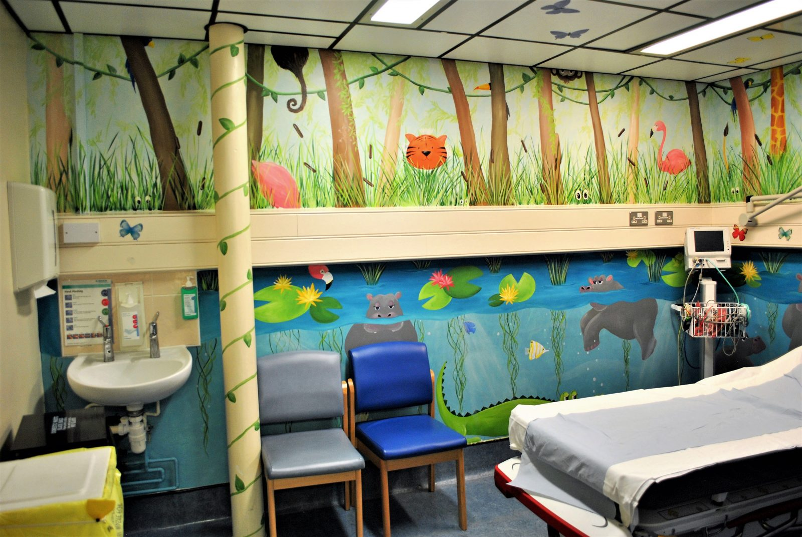 Childrens Wall Murals In Surrey Hampshire And Berkshire