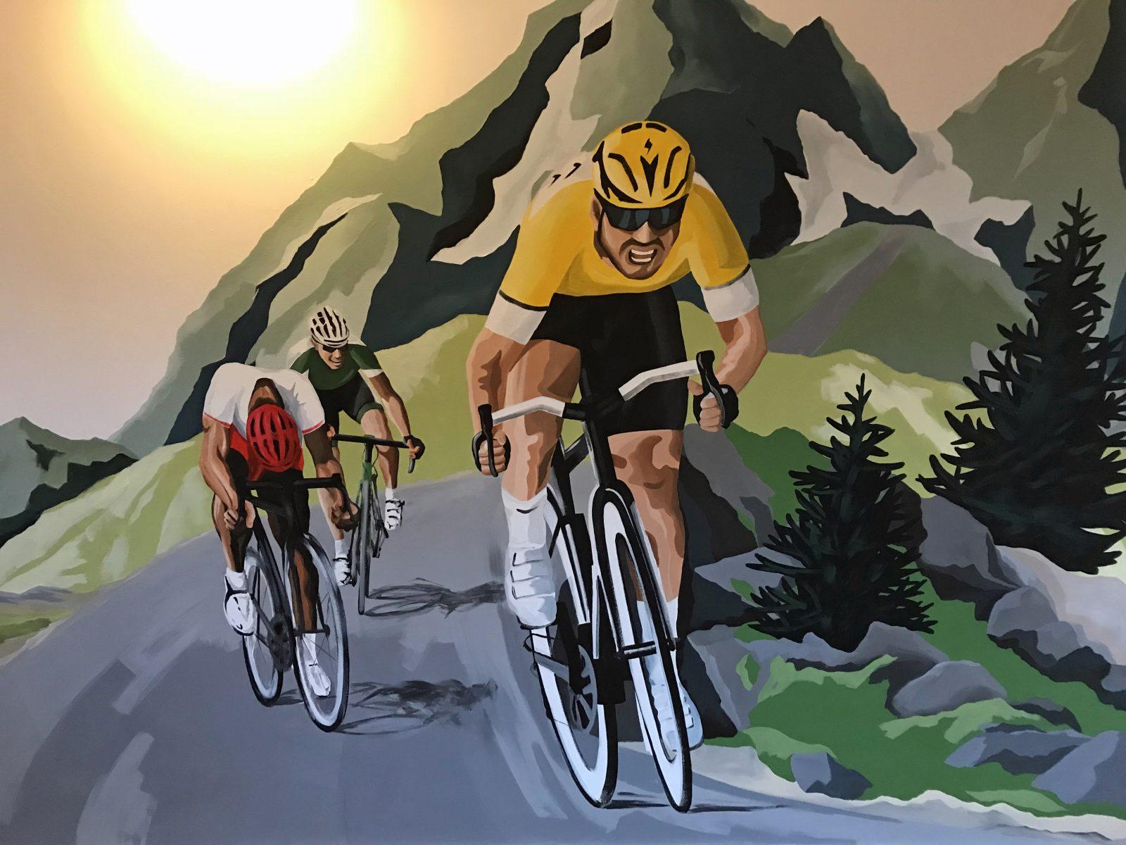 Cycling Mural
