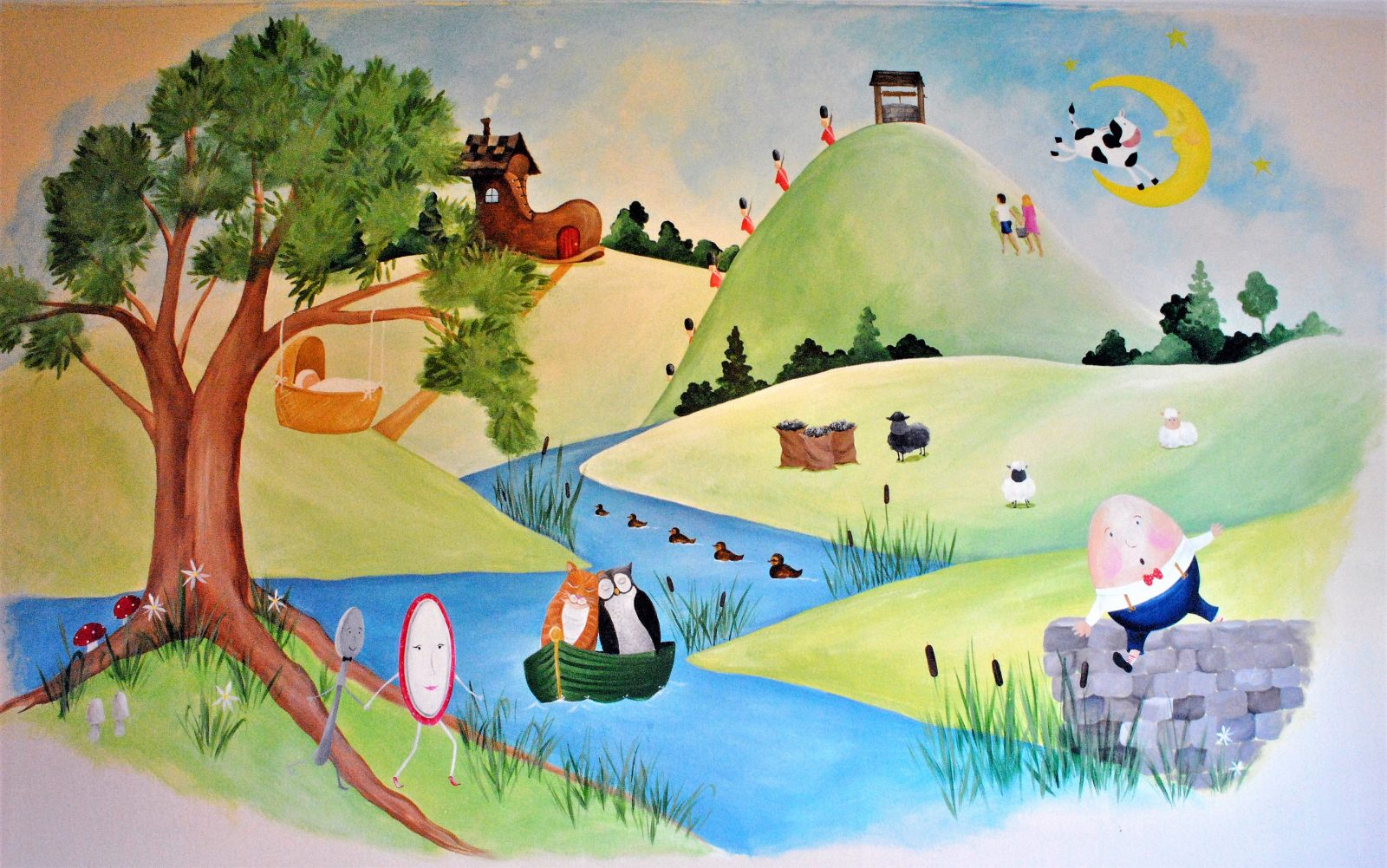 Bespoke Hand Painted Nursery Murals In The South East
