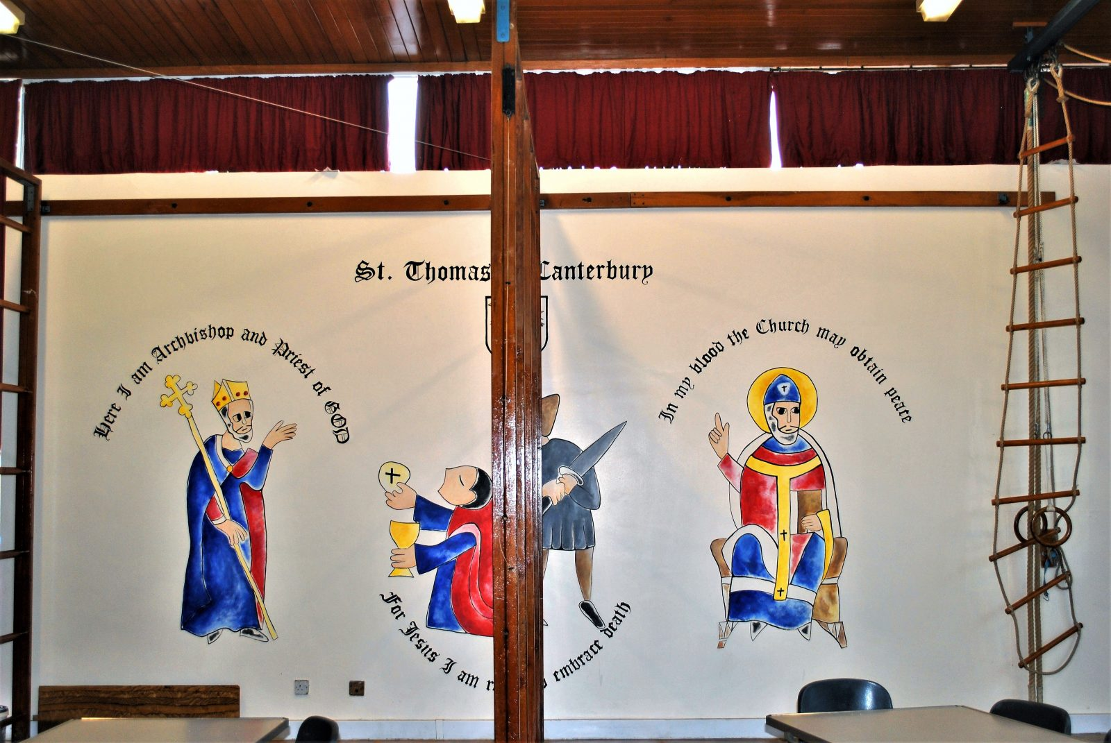 Catholic School Murals