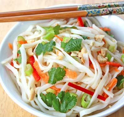 Inspired2cook.com » Vietnamese Rice Noodle Salad