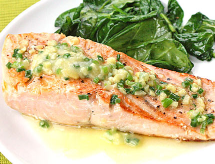Inspired2cook Com 187 Sear Roasted Salmon Fillets With Lemon