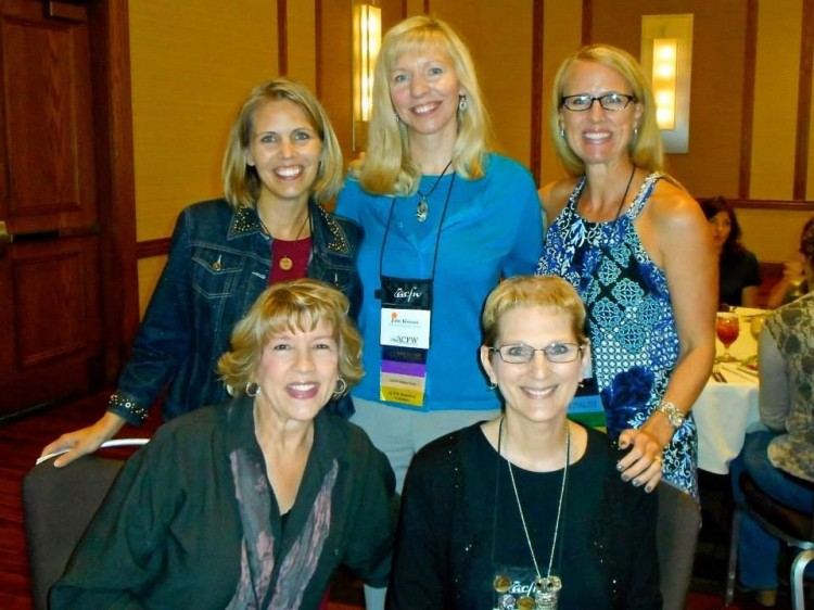 Back: Cara, Julie, Becky Front: Deb, Robin