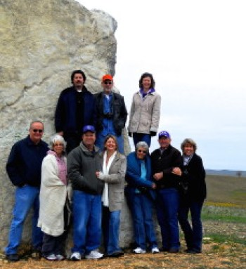 Al and Tammye, left, joined our family for a trip to see the wild mustangs in Teterville, KS.