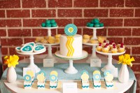 Rock and Roll Baby Boy Shower - Inspired By This