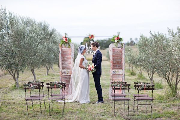 Inspired by This Simple Winter Wedding Shoot by Sunshine  Confetti  Life in Bloom Photography