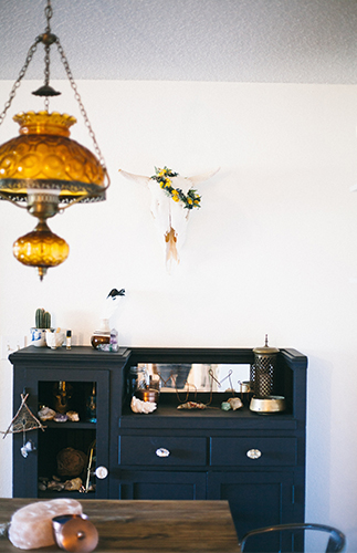 Mid Century Boho Home Tour Inspired By This